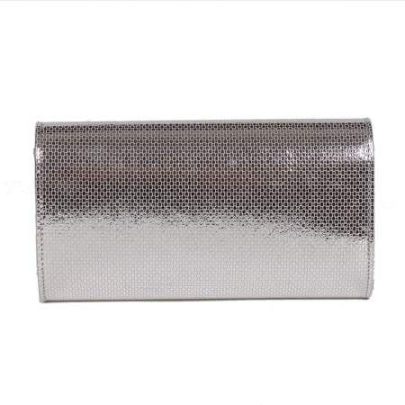 Plic argintiu fagure din piele naturala model 07 [2]