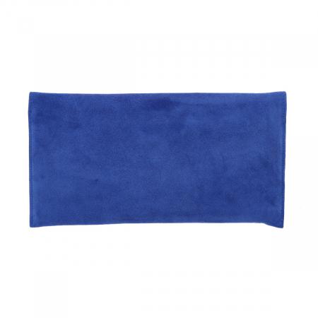 Plic de ocazie din piele naturala intoarsa albastru imperial [2]