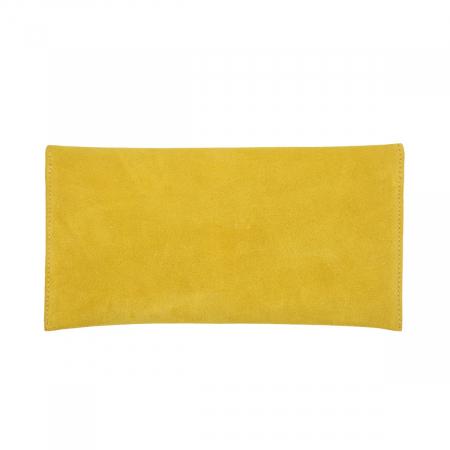 Plic de ocazie din piele naturala intoarsa galben [1]