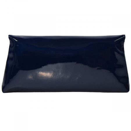Plic din piele naturala lacuita bleumarin 114 [3]