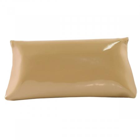 Plic din piele naturala lacuita nisipiu 114 [3]