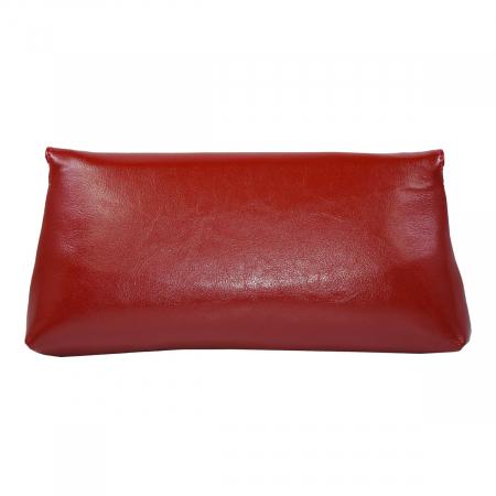 Plic din piele naturala rosie 114 [3]