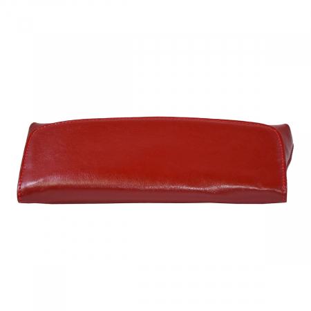 Plic din piele naturala rosie 114 [4]