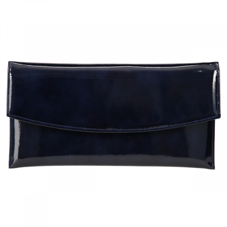 Plic elegant bleumarin din piele saffiano lac [1]