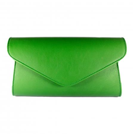 Plic elegant din piele naturala, model 08, Verde [2]