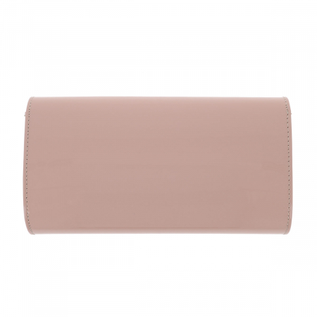 Plic elegant nude din piele lacuita, model 08 [2]