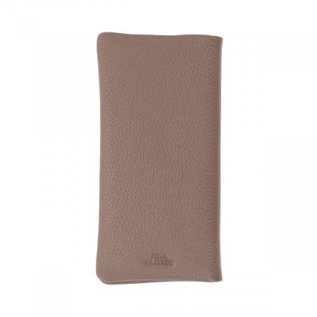 Port carduri din piele naturala moale, nisipiu, model Eminsa 1119 [1]