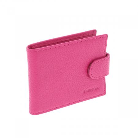 Port carduri din piele naturala roz, model 1517 [2]