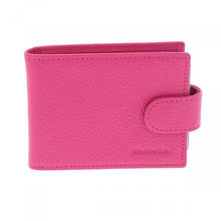Port carduri din piele naturala roz, model 1517 [0]