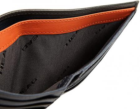 Portofel barbati din piele naturala, Head, cu protectie anti scanare RFID, model H50167603, Bleumarin [3]
