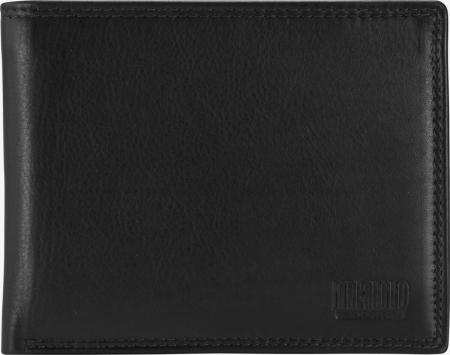 Portofel barbati din piele naturala, Mano, model M19013, Negru [1]