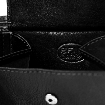 Portofel barbati din piele naturala, The Chesterfield Brand, Harlem, cu protectie anti scanare RFID, Negru [2]