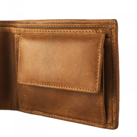 Portofel barbati, The Chesterfield Brand, cu protectie anti scanare RFID, din piele naturala, Walid, Maro coniac [1]
