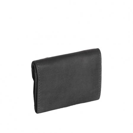 Portofel dama din piele naturala, The Chesterfield Brand, Alma, cu protectie anti scanare RFID, Negru [1]