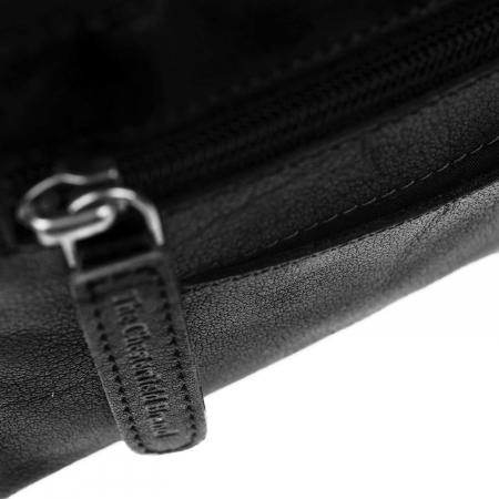 Portofel dama din piele naturala, The Chesterfield Brand, Houston, cu protectie anti scanare RFID, Negru [2]