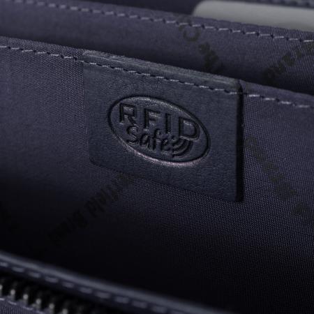 Portofel dama, The Chesterfield Brand, cu protectie anti scanare RFID, din piele naturala, Mirthe, Bleumarin [4]