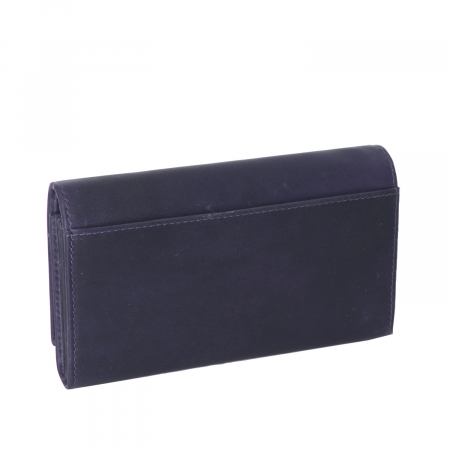 Portofel dama, The Chesterfield Brand, cu protectie anti scanare RFID, din piele naturala, Mirthe, Bleumarin [1]