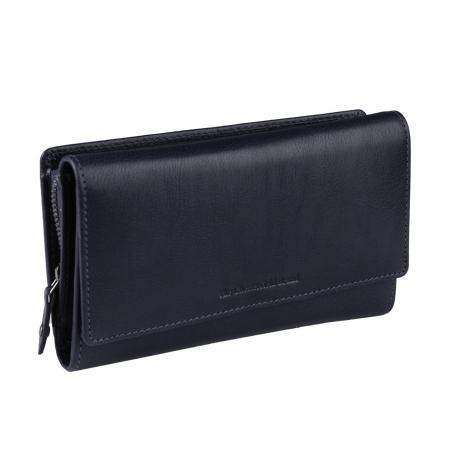 Portofel dama, The Chesterfield Brand, cu protectie anti scanare RFID, din piele naturala neagra, Aileen [11]