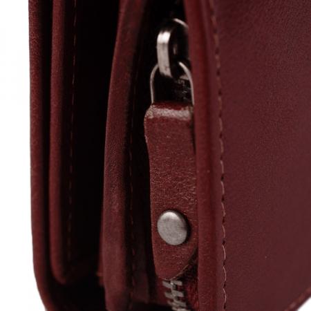 Portofel dama, The Chesterfield Brand, cu protectie anti scanare RFID, din piele naturala neagra, Aileen [8]