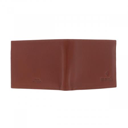 Portofel din piele fina maro coniac Eminsa pentru barbati, model 1013 [5]
