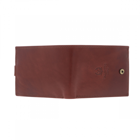 Portofel din piele maro coniac Valentini pentru barbati, model 561 [5]