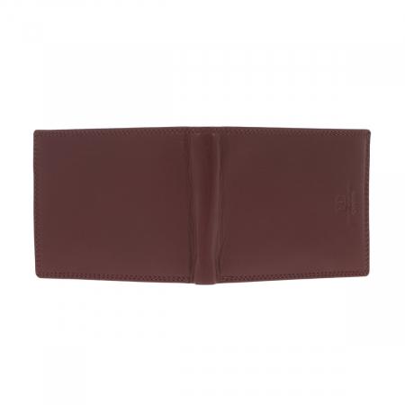 Portofel din piele maro Coveri pentru barbati, model 292 [4]