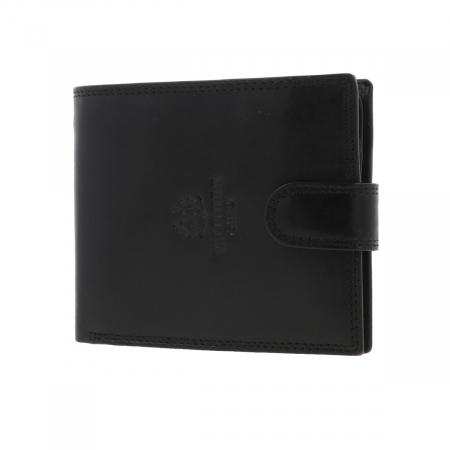 Portofel din piele neagra Valentini pentru barbati, model 298 [1]