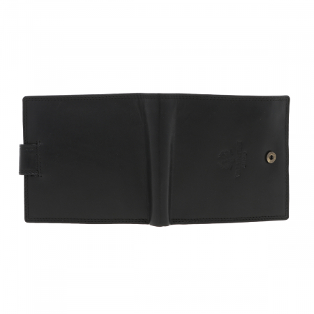 Portofel din piele neagra Valentini pentru barbati, model 298 [4]