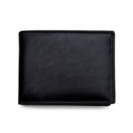 Portofel din piele pentru barbati,negru nappa S105 [0]