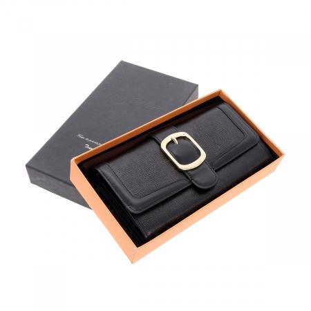 Portofel negru din piele naturala, Tony Bellucci model T605 [1]