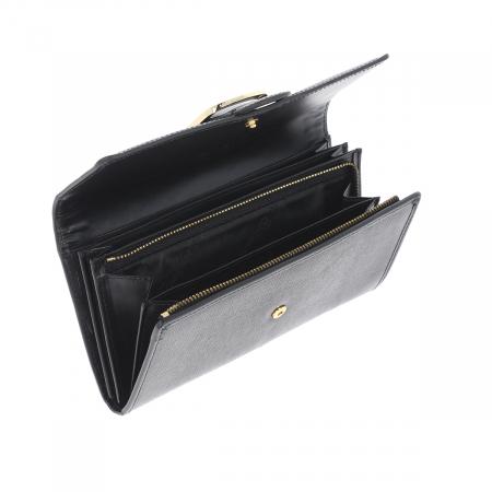 Portofel negru din piele naturala, Tony Bellucci model T605 [4]