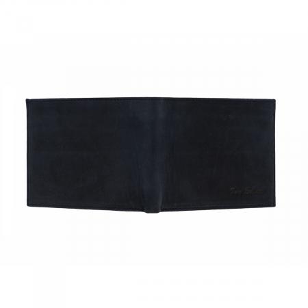 Portofel slim din piele bleumarin Tony Bellucci pentru barbati, model T138-03 [3]