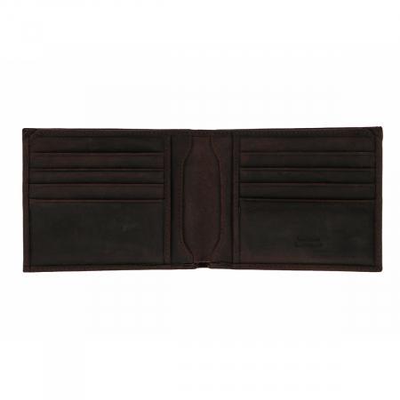 Portofel slim din piele maro ruginiu Tony Bellucci pentru barbati, model T138-07 [2]