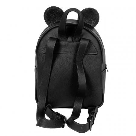 Rucsac dama din piele naturala neagra - Mickey [3]