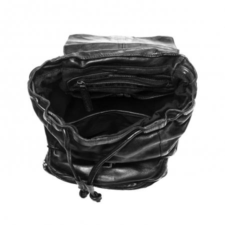 Rucsac de dama The Chesterfield Brand din piele moale, Jace, Negru [1]