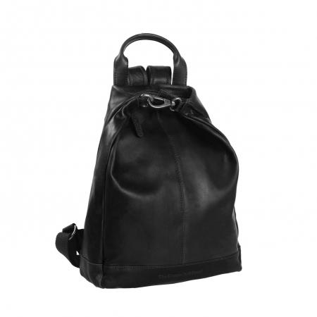 Rucsac de dama The Chesterfield Brand din piele moale, Saar, Negru [0]