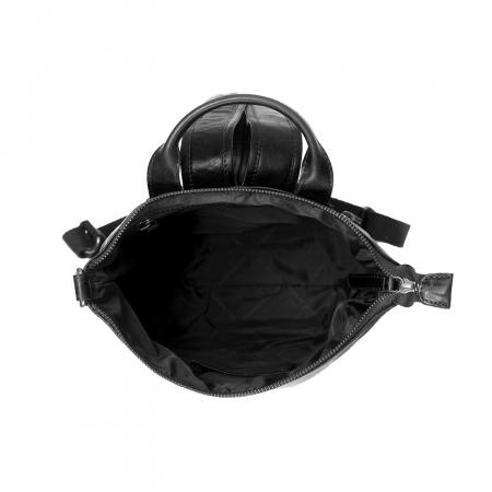 Rucsac de dama The Chesterfield Brand din piele moale, Saar, Negru [4]
