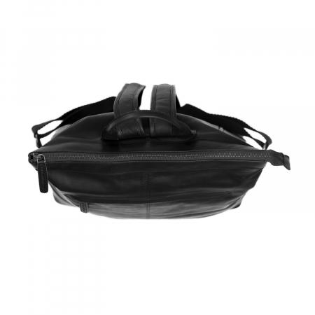 Rucsac de laptop din piele naturala, The Chesterfield Brand, Kuta 15.6 inch, Negru [3]