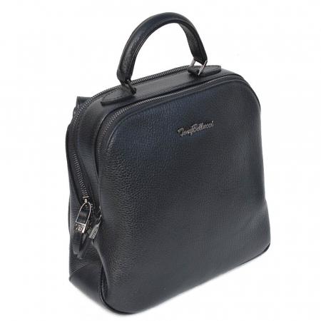 Rucsac din piele neagra, marca Tony Bellucci, model T121 [0]
