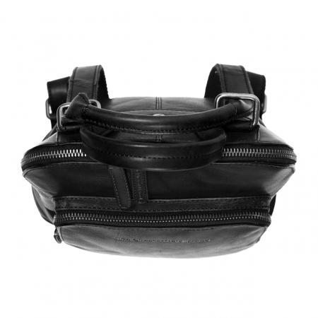 Rucsac / geanta de dama din piele naturala, The Chesterfield Brand, Sienna, Negru [3]