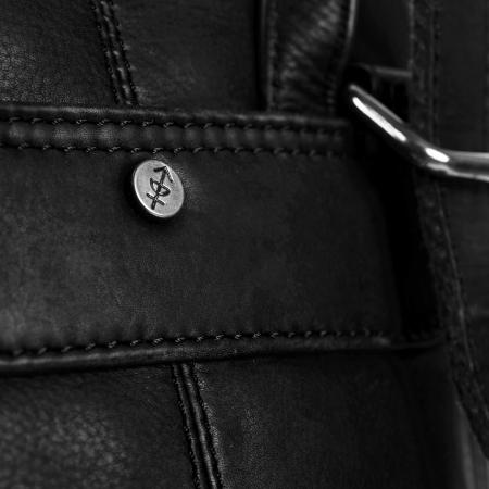 Rucsac / geanta de dama din piele naturala, The Chesterfield Brand, Sienna, Negru [4]