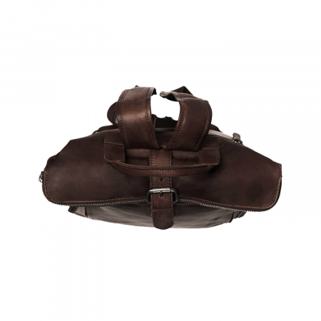 Rucsac The Chesterfield Brand din piele moale maro, Dali [2]