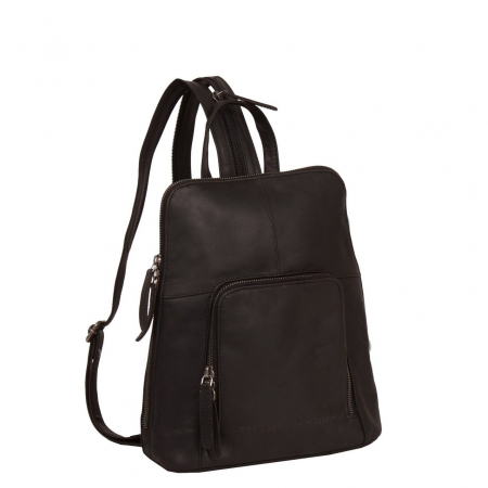 Rucsac The Chesterfield Brand din piele moale, Vivian, Maro inchis [0]