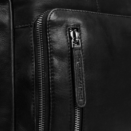 Rucsac unisex The Chesterfield Brand din piele moale, Layla, Negru [3]