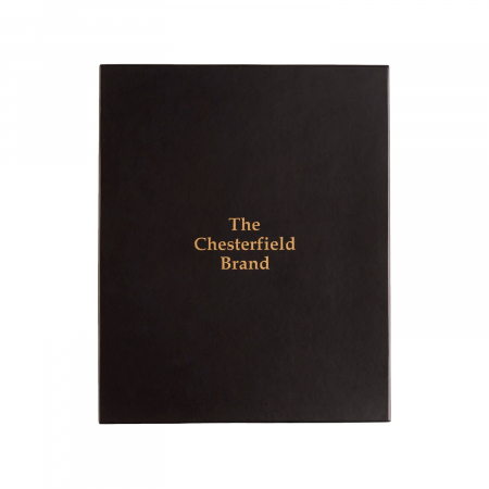 Set cadou pentru barbati cu pix si agenda, The Chesterfield Brand maro coniac [3]