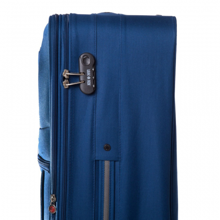 Troler mare ATLANTA albastru 74 cm [2]