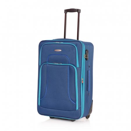Troler mare VISION albastru cu turcoaz 74 cm [0]