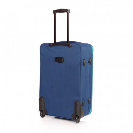 Troler mare VISION albastru cu turcoaz 74 cm [1]