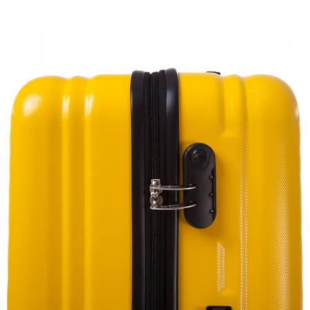Troler mediu FANTASY galben cu negru 67 cm [4]