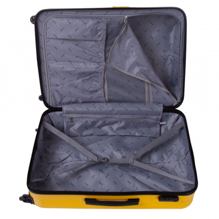 Troler mediu FANTASY galben cu negru 67 cm [5]